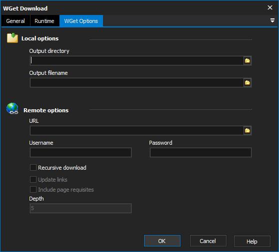 WGet Download Action - FinalBuilder 8 - VSoft Technologies